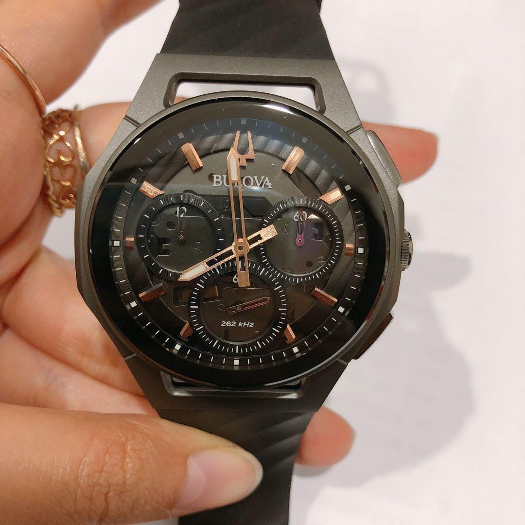 301a5af8f Bulova 98A162 Curv Chronograph watch for men, Men's Fashion, Watches ...
