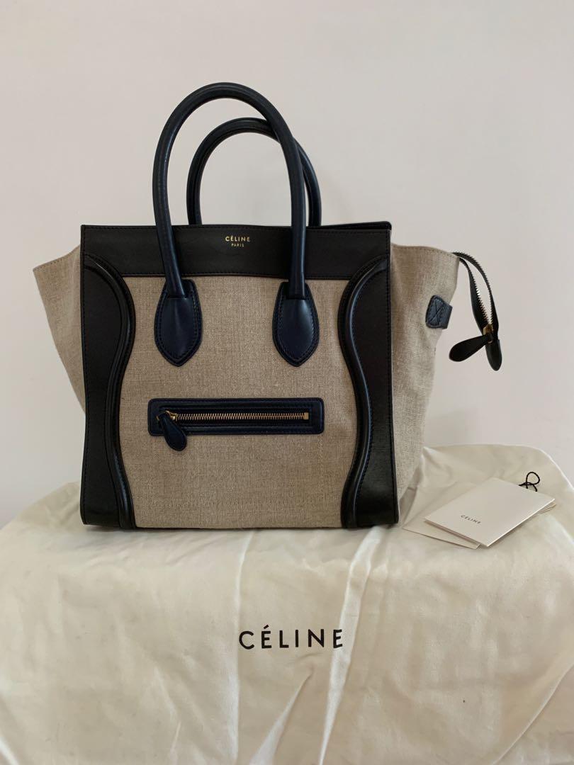 6ae7ff660e Celine Mini Luggage
