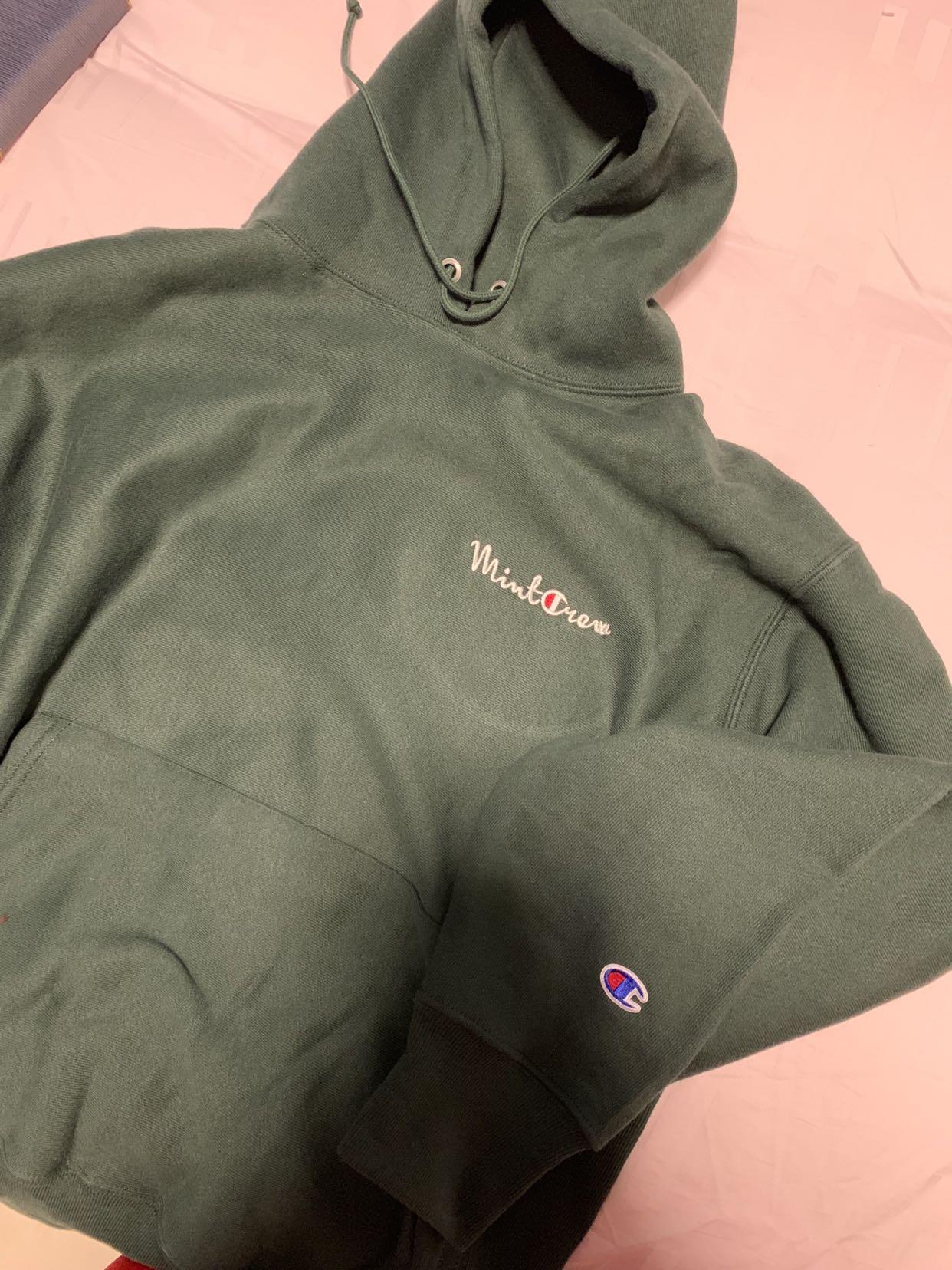 431c0e11f22f Champion mint crew hoodie authentic