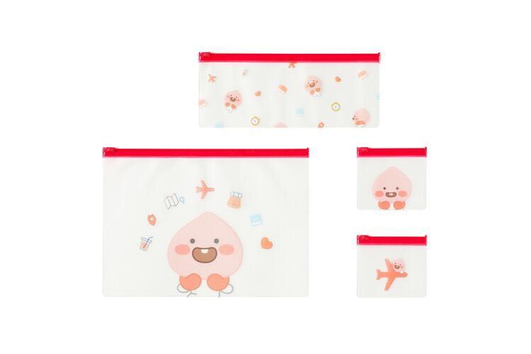Clear Pouch 4P Set