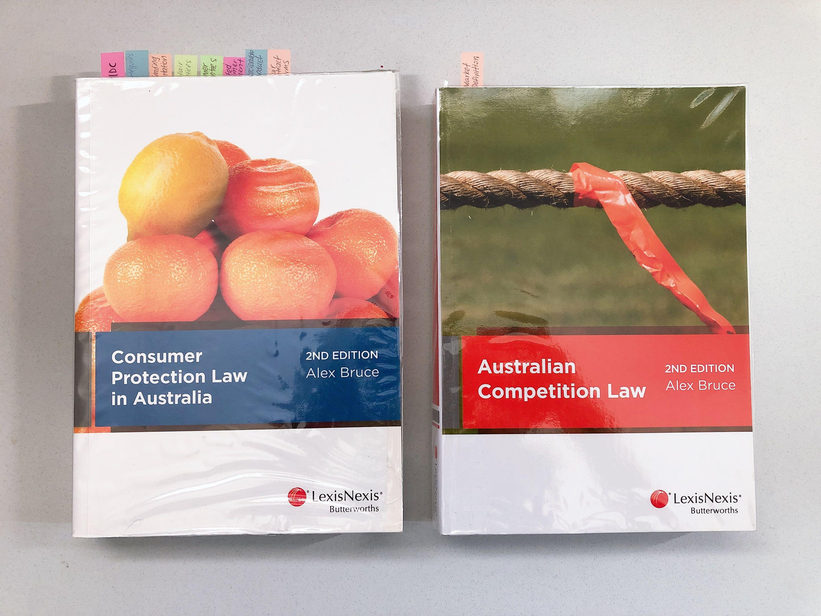 Consumer protection law in australia & Australian competition law 2nd edition Alex Bruce