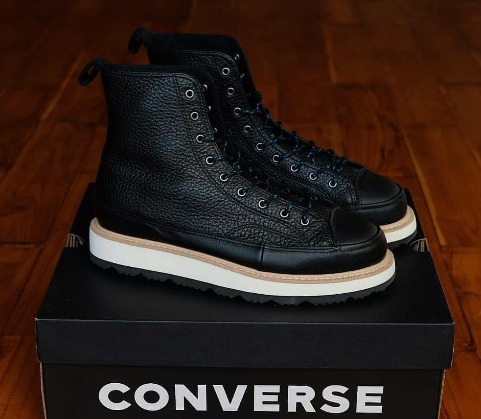 40c692c209a1 CONVERSE CT CRAFTED BOOTS LEATHER (Black Hi)