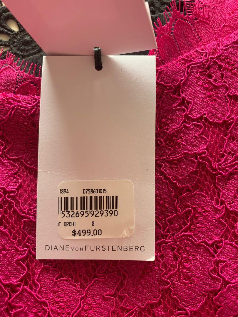 Diane Von Furstenberg Zarita Lace Dress Cocktail Dresses