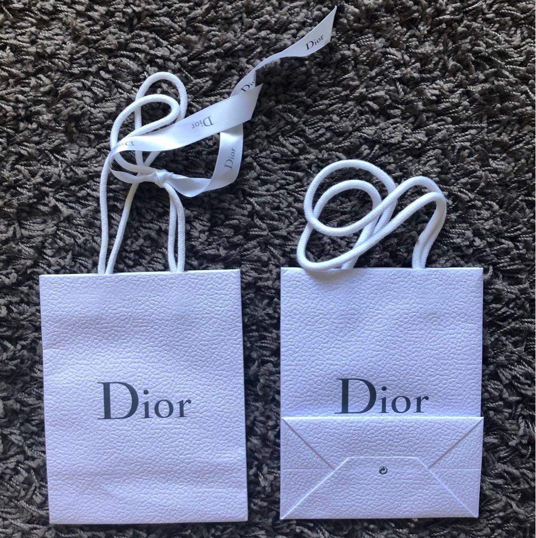 Dior paper shopping bag