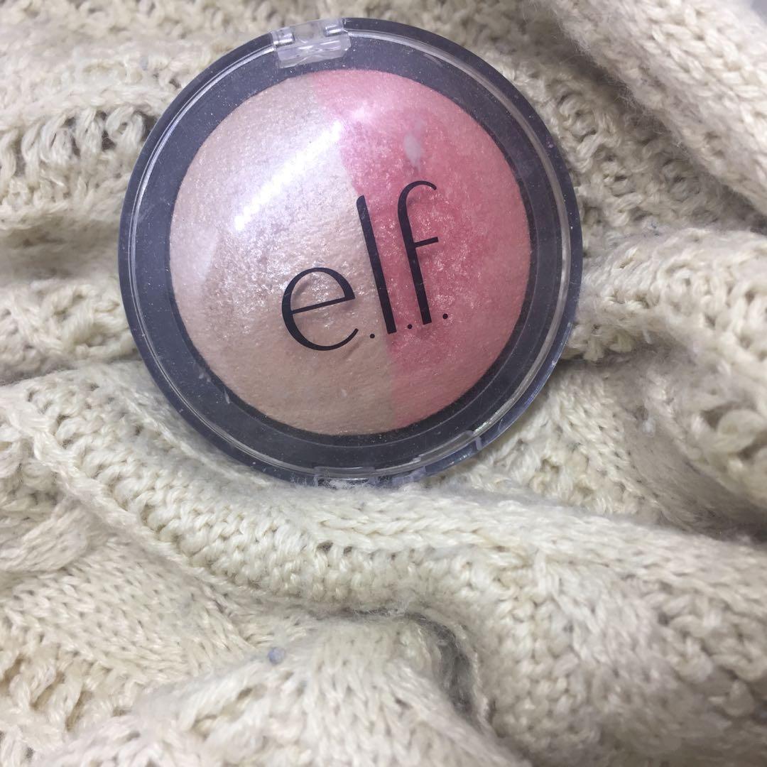 Elf Baked Blush Highlighter