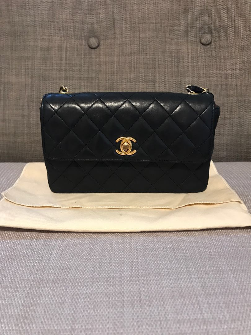 7962ee1a0368 (Fast deal) Authentic vintage Chanel mini, Luxury, Bags & Wallets, Sling  Bags on Carousell