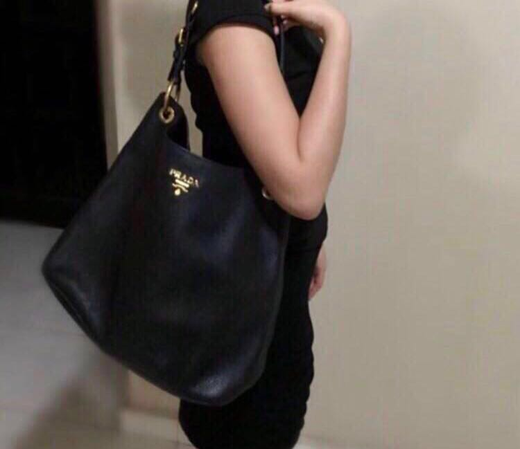 da95ce137351 Fast deal! Prada Vitello Daino Sacca Bag, Luxury, Bags & Wallets ...
