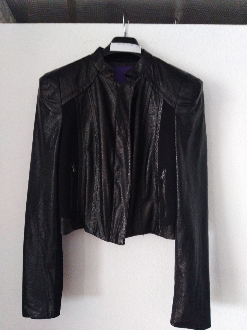 dbf69aed9 Forever 21 Faux Leather Jacket
