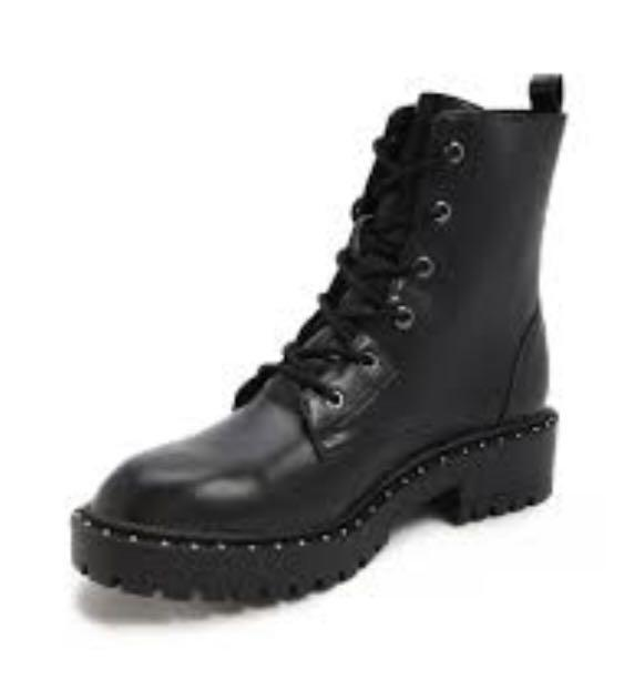 Forever 21 studded combat boots