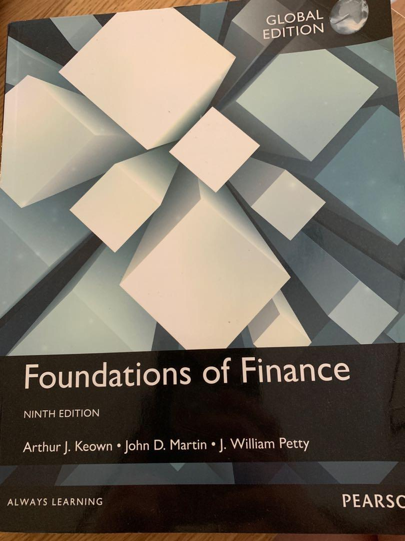 Foundations of Finance 9th Edition by Keown, Martin and Petty