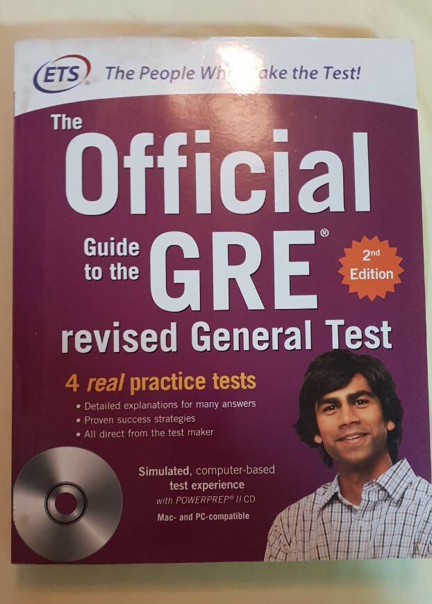GRE ETS Official 2nd Edition