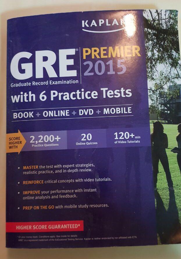 GRE Kaplan Premier 2015