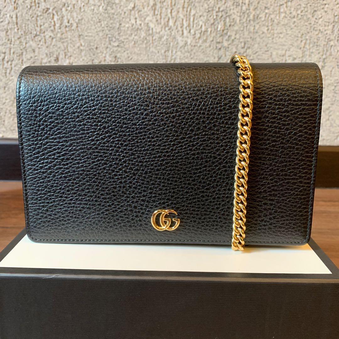 afc7c887498 Gucci GG Marmont leather mini chain bag