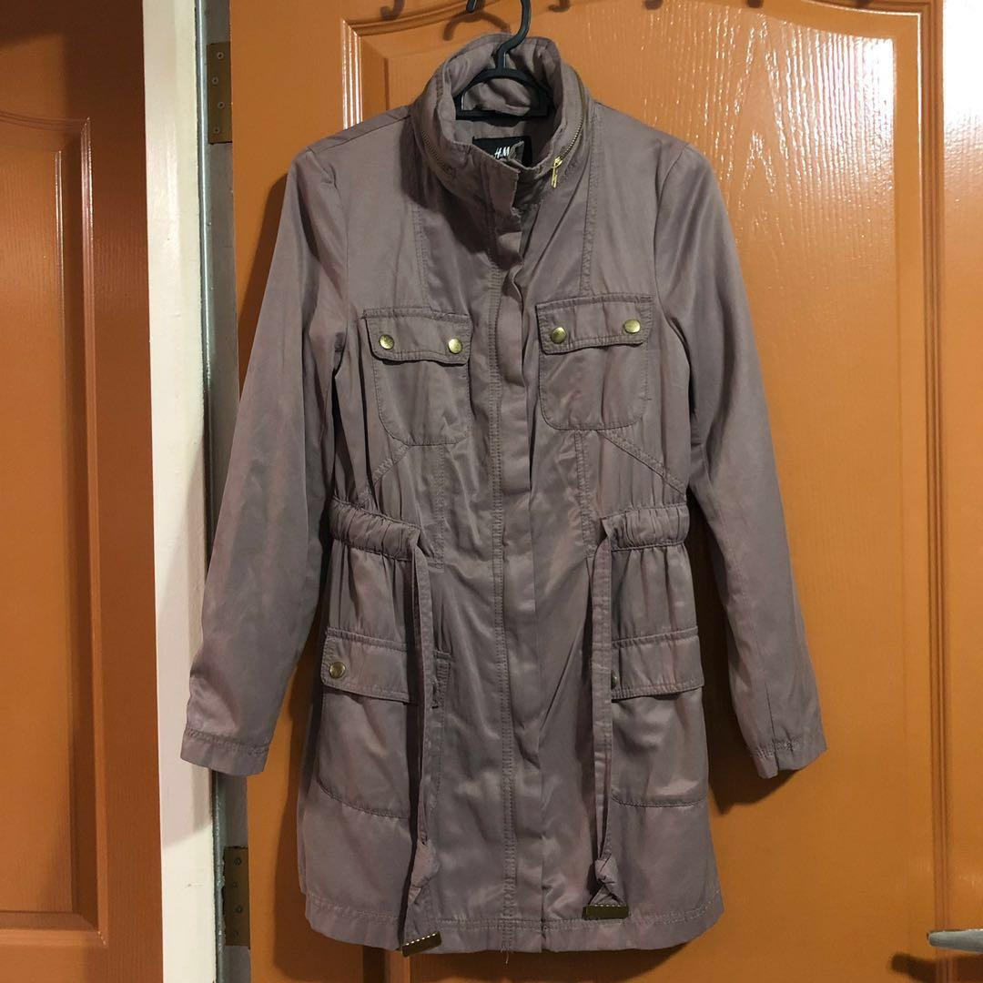 H&M Trench Coat / Outerwear / Winter Coat