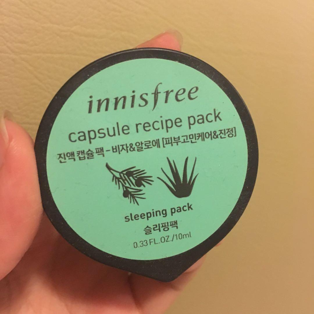 Innisfree Capsule Recipe Pack