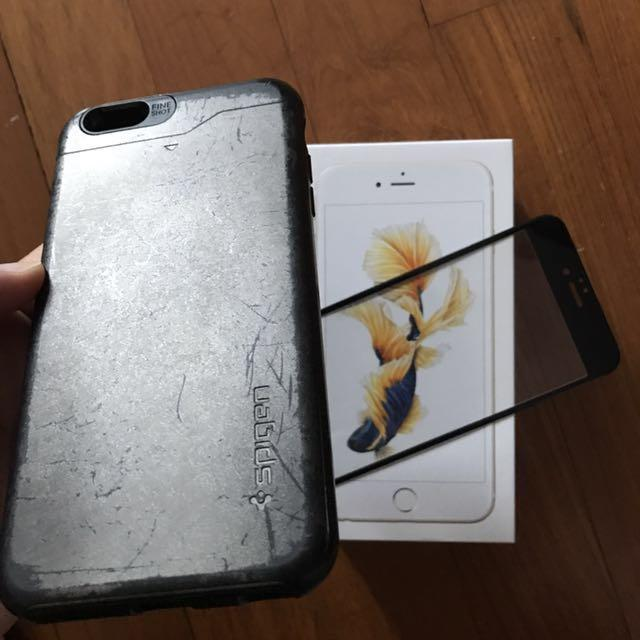 iPhone 6S Plus Spigen Original Casing with Card compartment