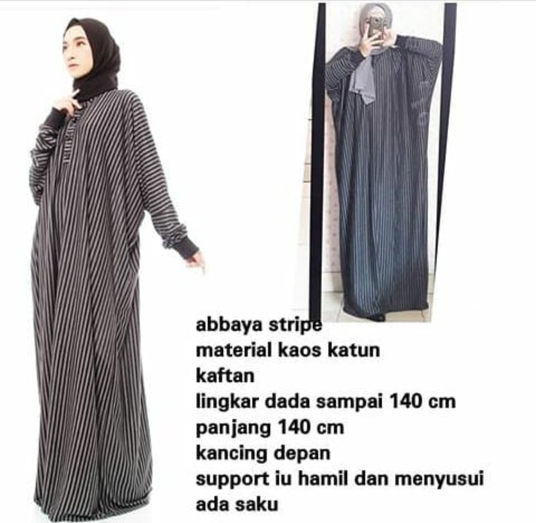 7e285297b3 Jubah long dress (DRESS ONLY)