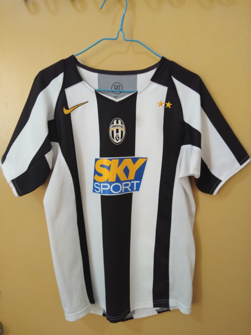new arrival 27048 755f0 Juventus 2004/2005 Home Jersey