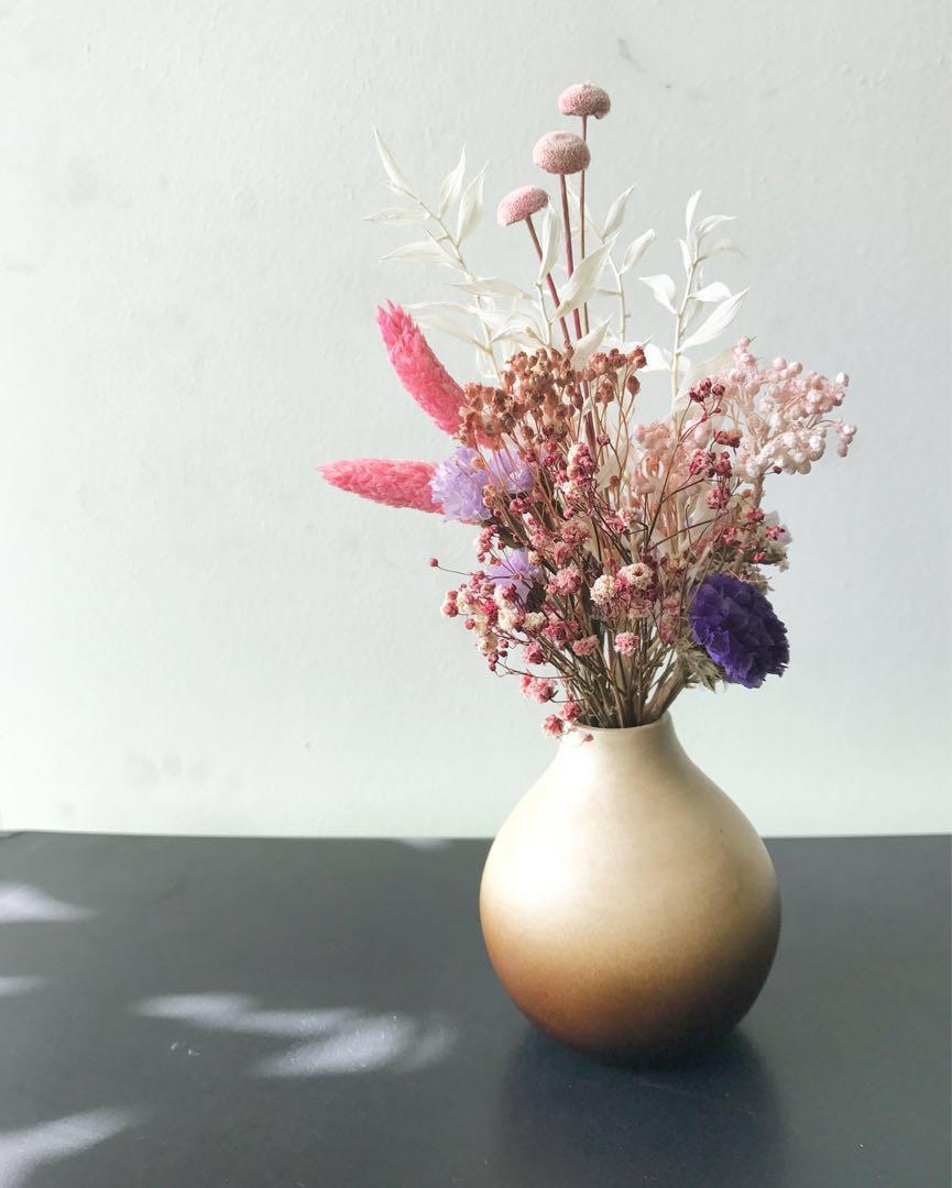 Limited Petite Dried Flowers Jar B