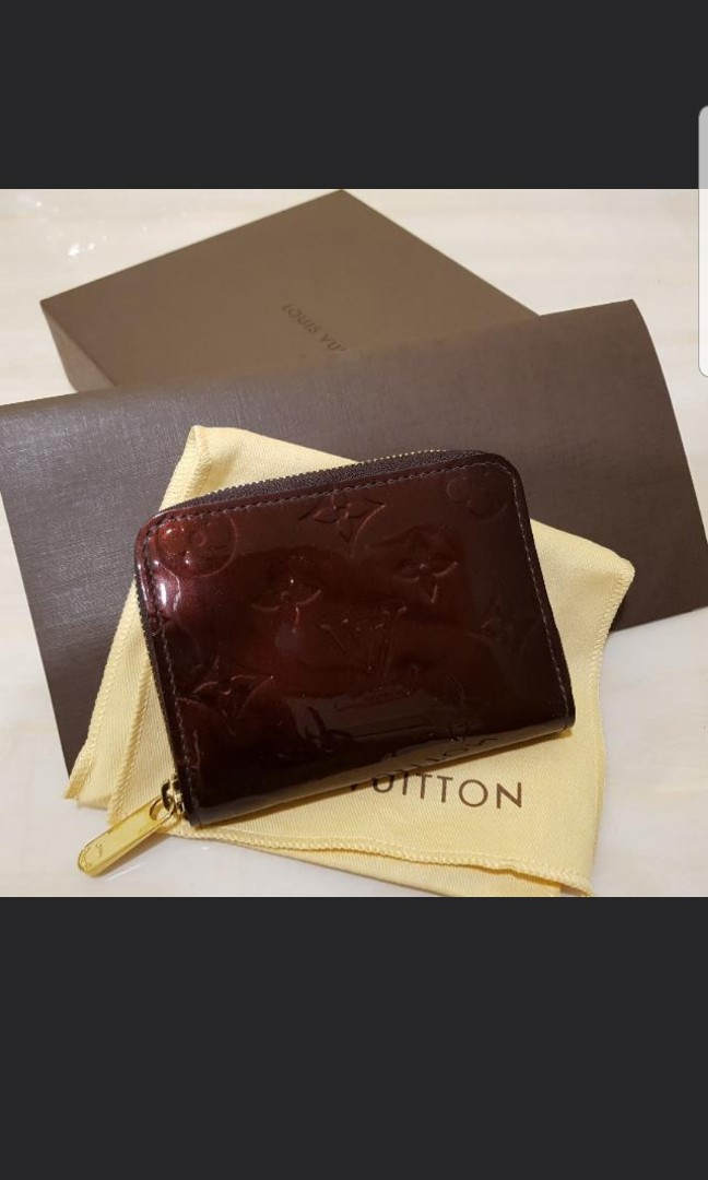 55fdb53c2119 LV vernis zippy coin purse, Luxury, Bags & Wallets, Wallets on Carousell