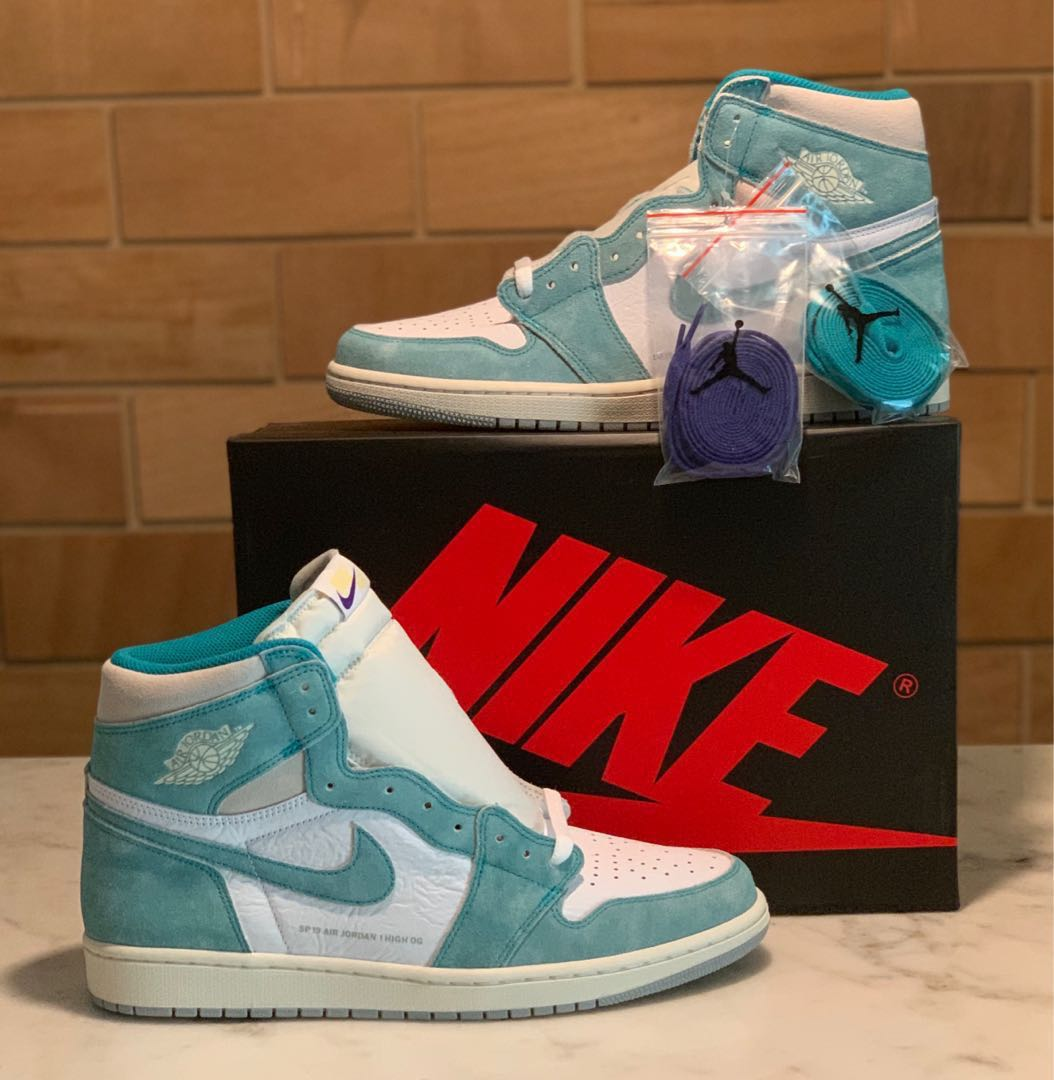 "Nike Air Jordan 1 Retro High OG ""Turbo Green "" eeac6eae8"
