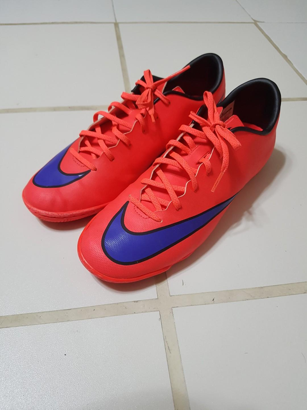 wholesale dealer 14600 5513c Nike Mercurial Victory V IC (Red/Purple)(Indoor), Sports ...