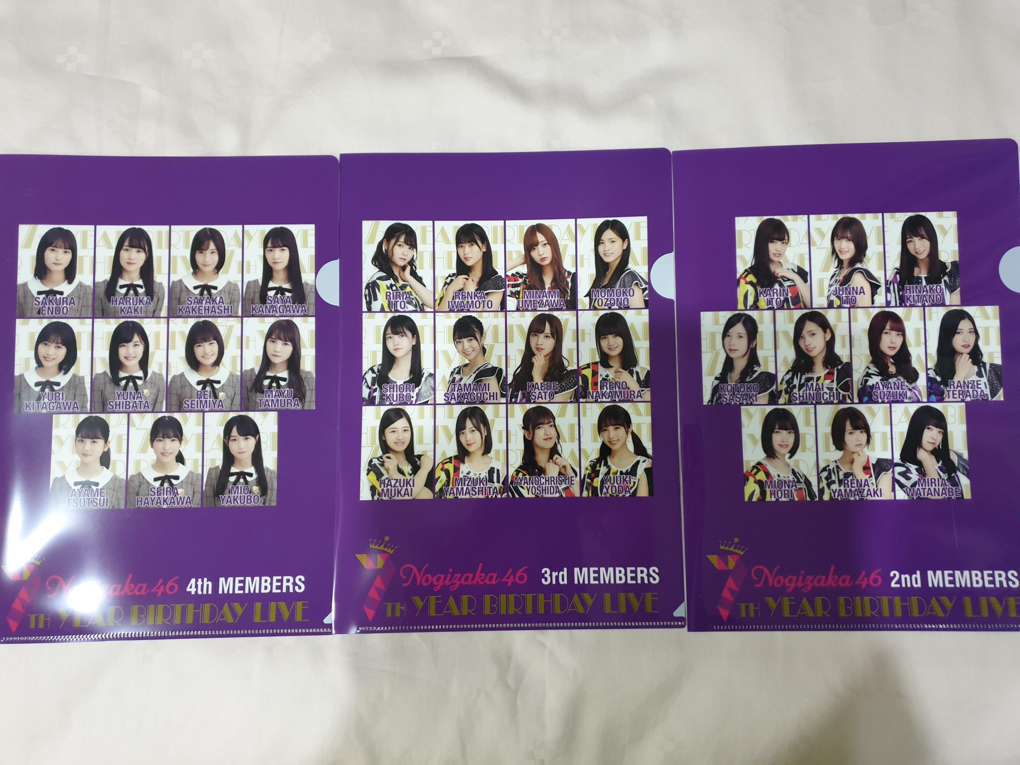 Nogizaka46 7th BD Live Clear Files