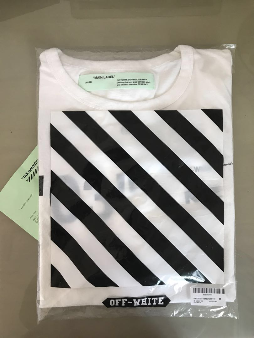 91b2368019bb Off White For all 03 tee