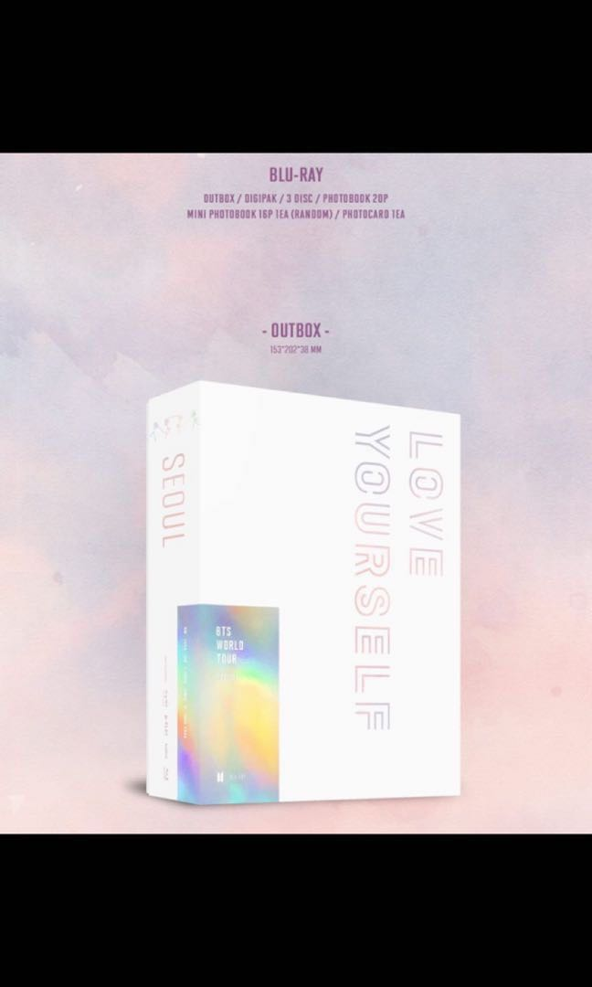 bts love yourself tour dvd europe download