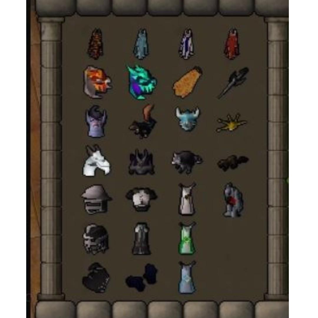 OSRS Maxed 2277 Account, Toys & Games, Video Gaming, In-Game