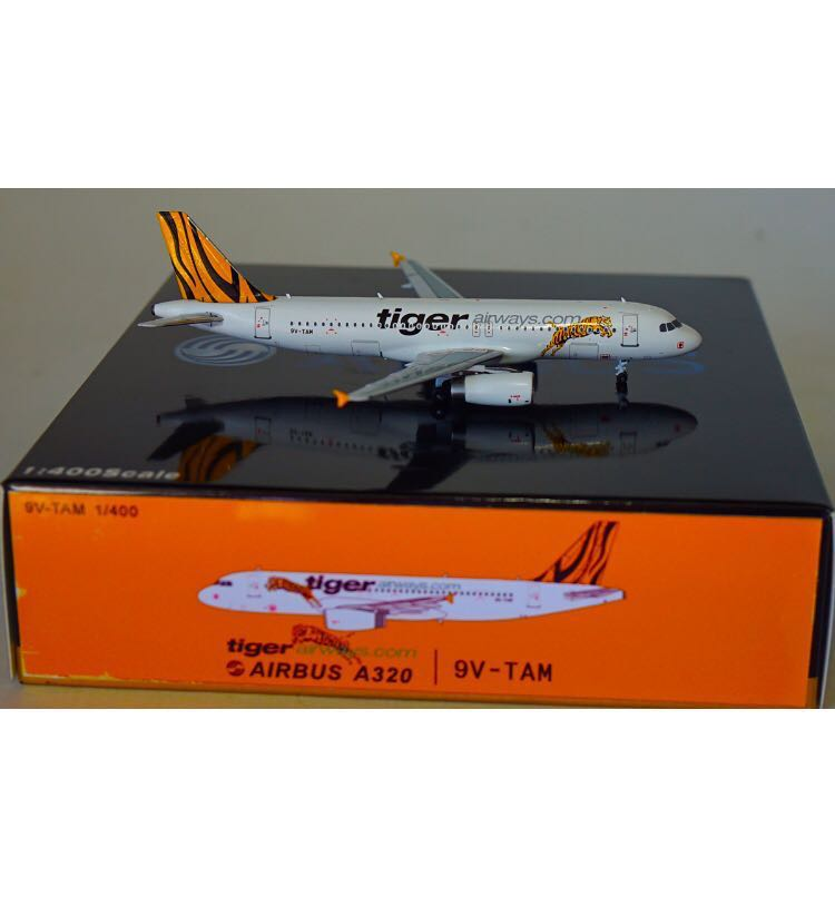 (Panda Model) Tigerair Airbus A320-200 [Old Livery]