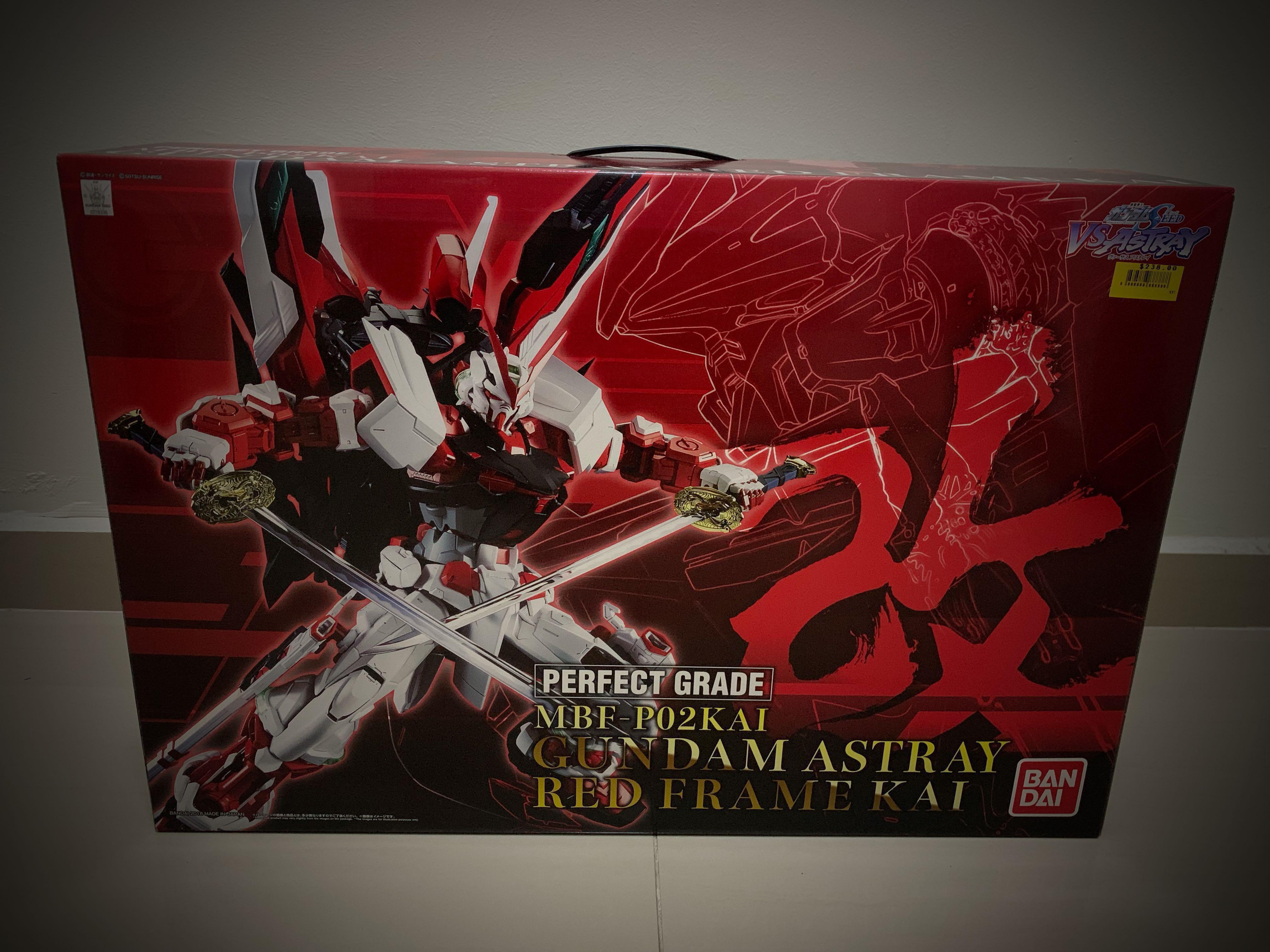 5dedf2c5ee75 ⚡️PERFECT GRADE PG 1 60 Gundam Astray Red Frame Kai