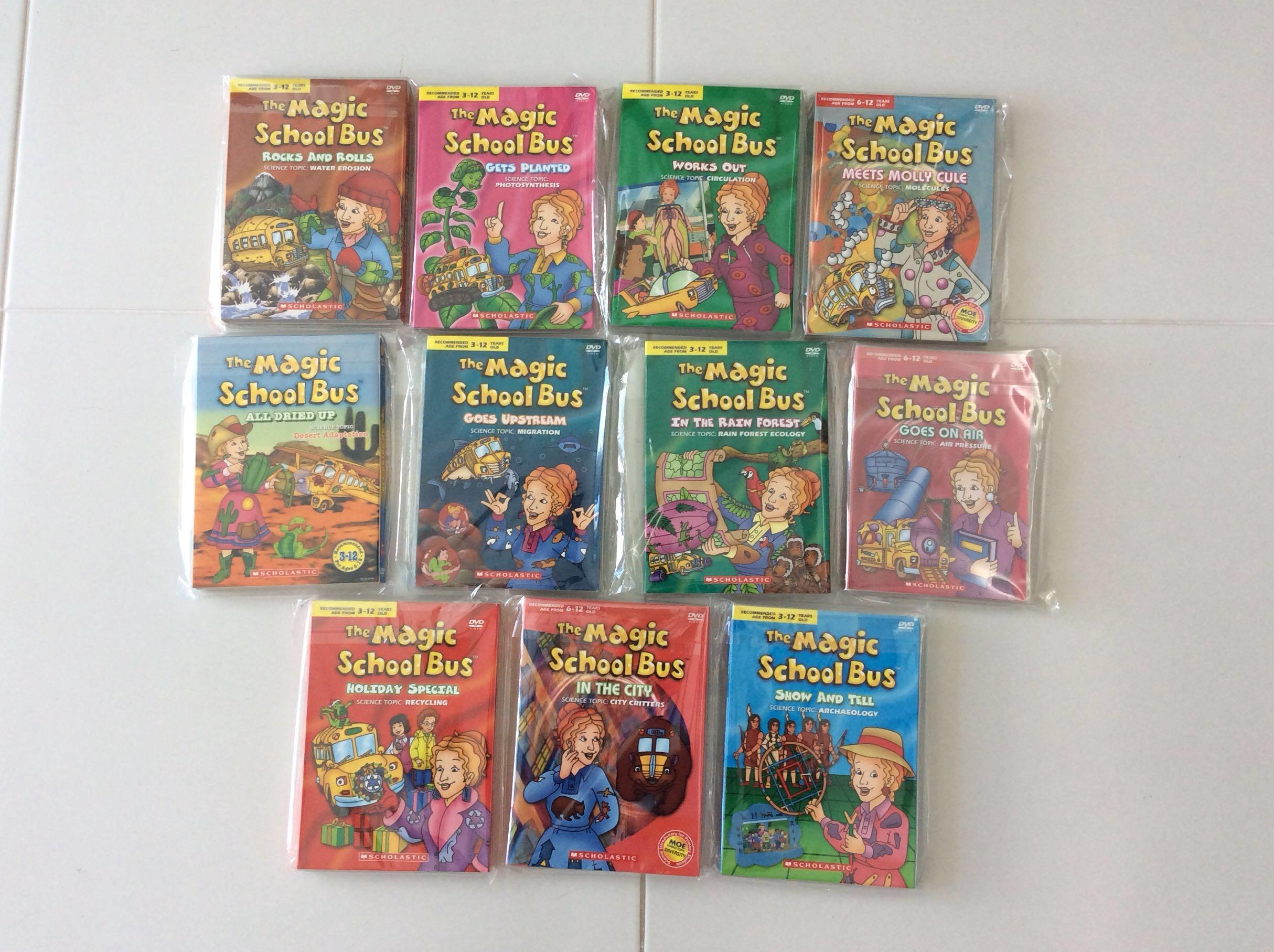 Preloved - Magic School Bus DVDs, Music & Media, CDs, DVDs