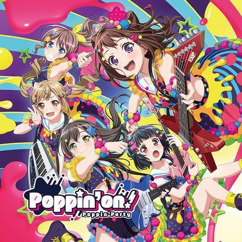 (PRE-ORDER) BanG Dream Poppin' Party 1st CD Album - Poppin' On!