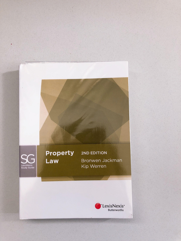 Property Law 2nd edition bronwen Jackman & Kip we're