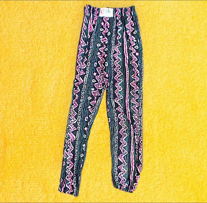 Raddest 90's surf,retrowave high waist happy pants xs-s RRP$49.95
