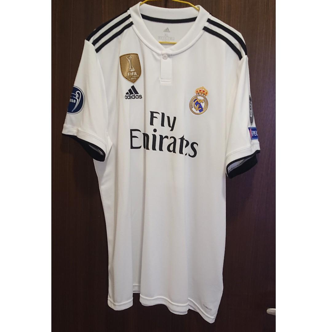 57260f2fa28 Real Madrid Home Shirt 2018 19 ASENSIO 20 by Adidas