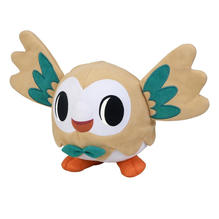 Rowlet Pokémon Time Edition Toys Games Stuffed Toys On Carousell