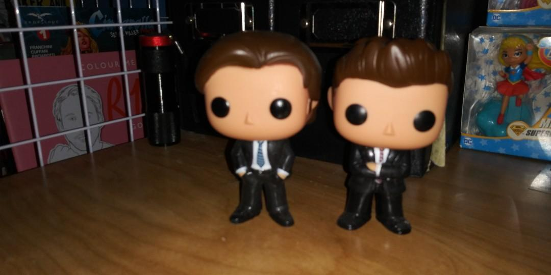 Sam and Dean Wincheater Pop Vinyl OOB Hot Topic Exclusive