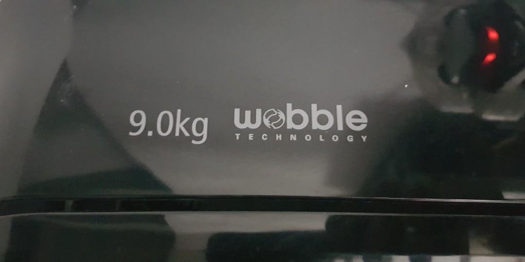 Samsung Wobble 9kg washing machine