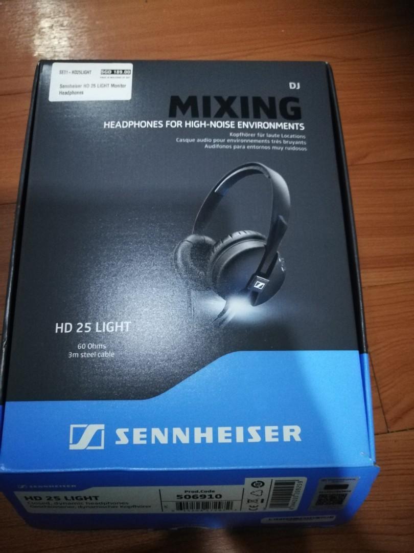 Sennheiser Hd 25 Light Headphones Electronics Audio On Carousell