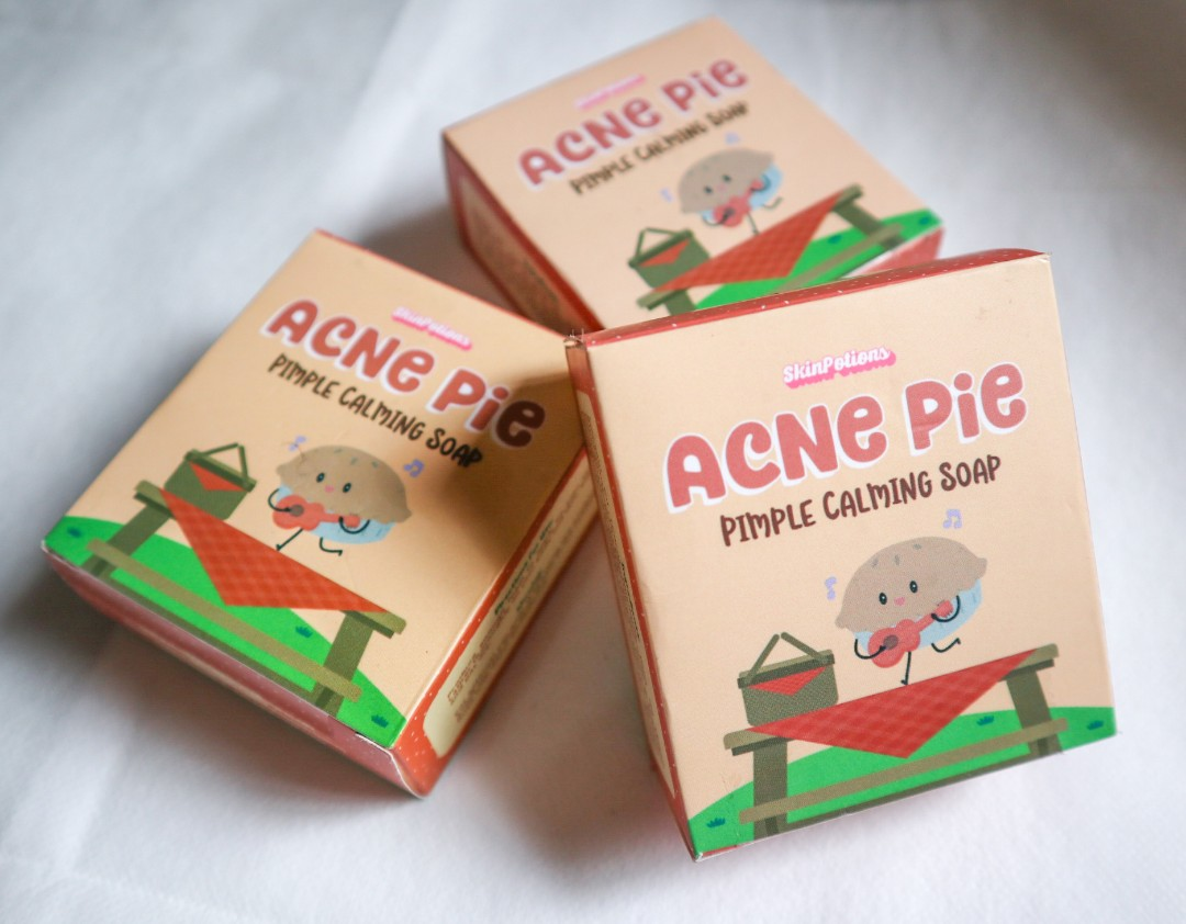 Skinpotions Acne Pie Pimple Calming Soap Health Beauty Skin Bath Body On Carousell