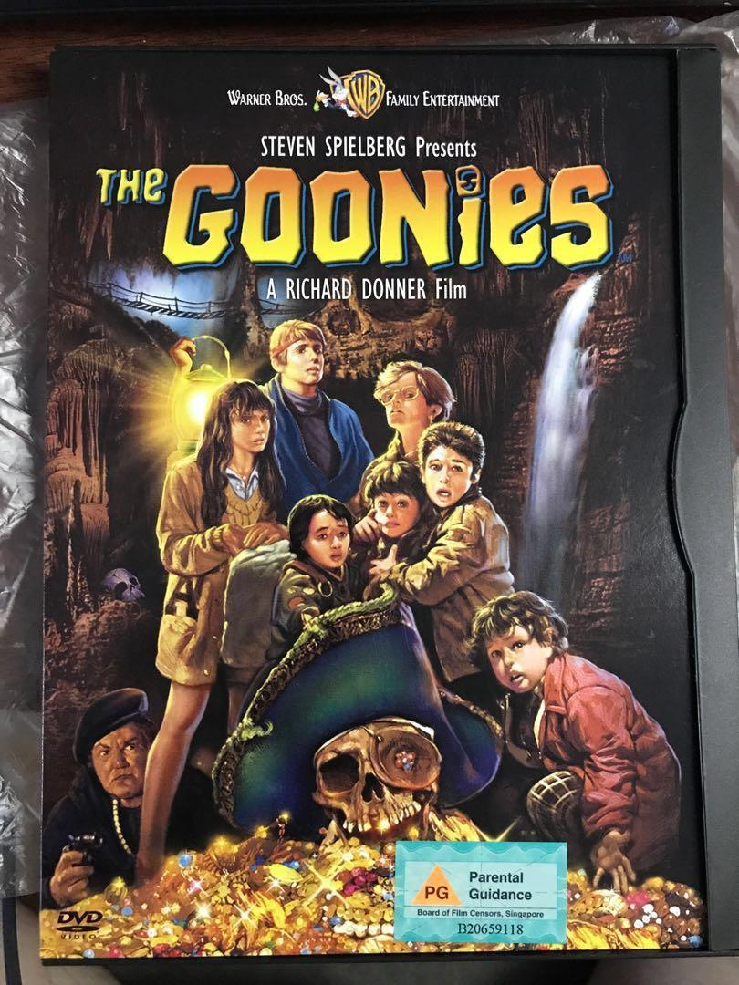 The Goonies DVD original well taken care of. Collectible.