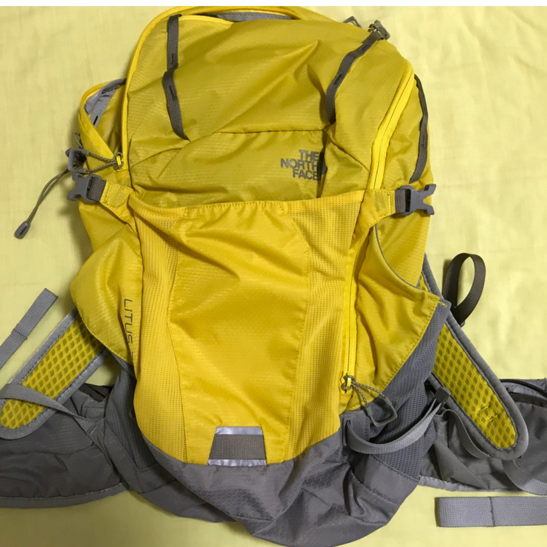 c70d9b571ab SOLD> The North Face Yellow LITUS 22 Size: S / M, Men's Fashion ...