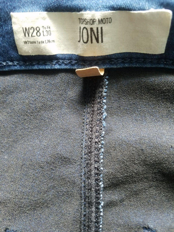 Topshop highwaisted Joni jeans