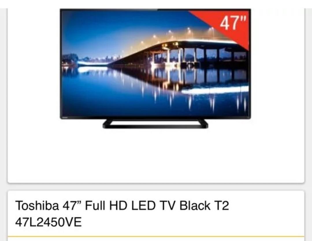 Toshiba TV 47L2450VE
