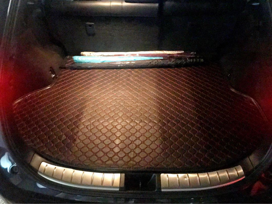 Toyota Harrier Leather Boot Mat Tray Car Accessories Accessories