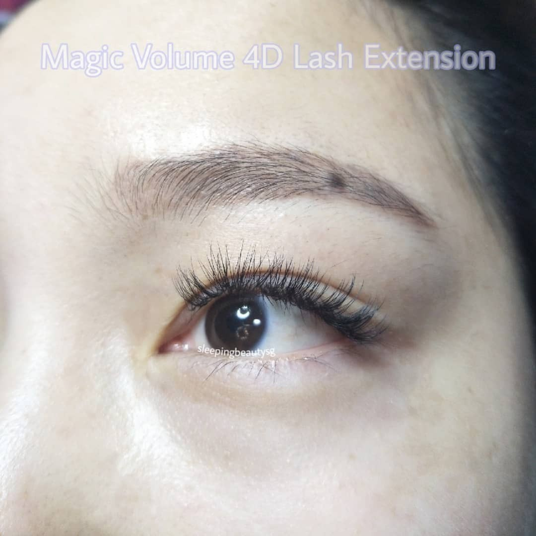 468b128368d Trial Magic Volume 4D Lash Extensions Eyelash Extensions, Health & Beauty,  Makeup on Carousell
