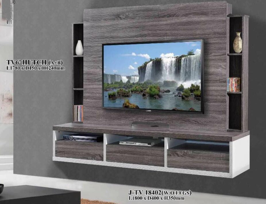 Tv Console Tv Feature Wall Unit Built In Cabinet