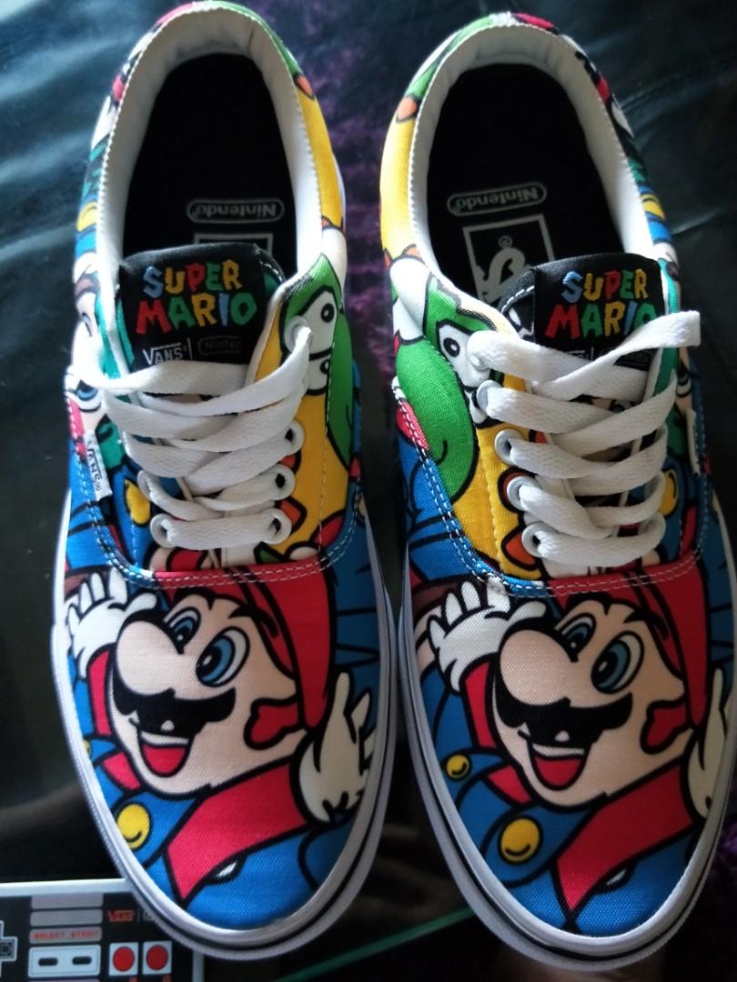f0ce42483c Vans x Nintendo Super Mario skate shoes
